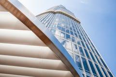 Modern byggnad fotografering för bildbyråer