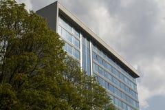 Modern byggnad Arkivbild