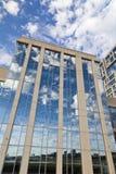 Modern byggnad arkivfoton
