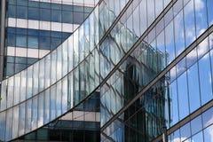 Modern byggnad för arkitekturdetalj Fotografering för Bildbyråer