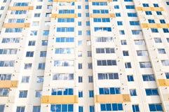 Modern byggnad för hög stigning Arkivfoto