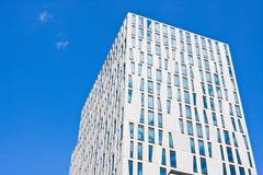 Modern byggnad för kick arkivbild