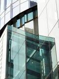 Modern byggnad, Glass fasad Fotografering för Bildbyråer