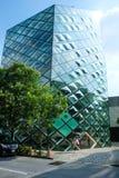 Modern byggnad i omodesandoen Japan Royaltyfri Bild