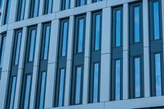 Modern byggnad i Warshaw poland Royaltyfri Fotografi