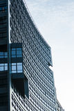 Modern byggnad i Warshaw poland Arkivbild