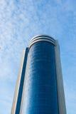 Modern byggnad i Warshaw poland Arkivfoton