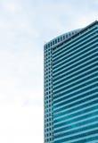Modern byggnad i Warshaw poland Royaltyfri Foto