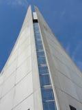 Modern byggnad som ansar till himlen Royaltyfri Bild
