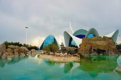 Modern byggnad, Valencia Royaltyfri Foto