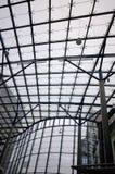 Modern byggnads- och fönsterram arkivbilder