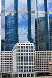 modern byggnadsaffär Arkivfoto