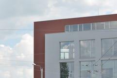 modern byggnadsdetalj Arkivfoton