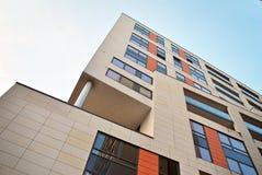 modern byggnadsfacade Arkivfoto