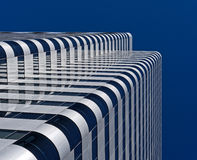 modern byggnadshighrise arkivbild