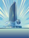 modern byggnadsstad Royaltyfri Fotografi