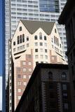 modern byggnadsstad Arkivfoto