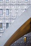 Modern byggnadsyttersida arkivfoton