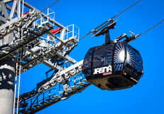 Modern cableway FUNITEL, Slovakia Stock Images