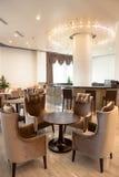 modern cafe Royaltyfri Bild