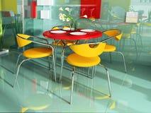 Modern cafe Royalty Free Stock Photos