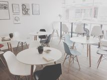 Modern cafe Royalty Free Stock Photography