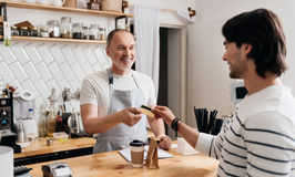 Modern cafe business Royalty Free Stock Photography