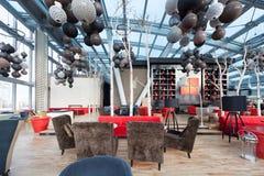 Modern cafe Royalty Free Stock Image