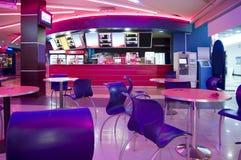 Modern cafe interior Royalty Free Stock Photos