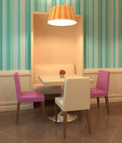 Modern cafe interior. Stock Images