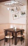Modern cafe interior Stock Photography