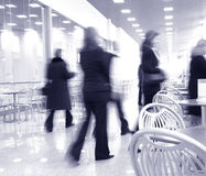 Modern cafe interior Royalty Free Stock Photography