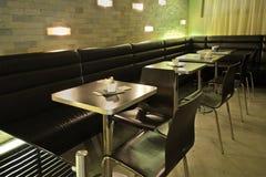 Modern café interior Royalty Free Stock Photos