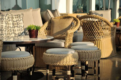 Modern Cafe Interior Royalty Free Stock Image