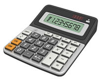 Modern calculator Royalty Free Stock Photography