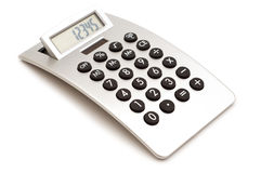 Modern calculator Stock Images