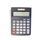 Modern Calculator with solar cells Stock Image