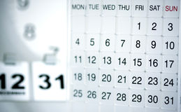 Modern Calendar Royalty Free Stock Images