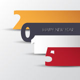 Modern calendar 2015 in color paper style. Vector/illustration . Modern calendar 2015 in color paper style. Vector/illustration royalty free illustration