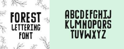 Modern calligraphy alphabet. Handwritten brush letters. Hand lettering font for your design: wedding calligraphy, logo, slogan, de. Modern calligraphy alphabet Royalty Free Stock Photo
