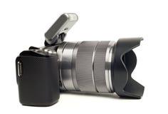 Modern camera Royalty Free Stock Photos