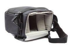 Modern Camera bag on white background. Royalty Free Stock Photos
