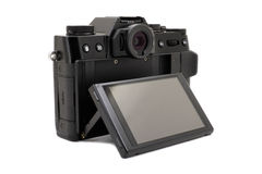 Modern camera Stock Photo