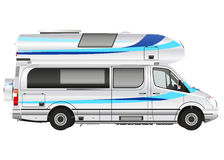 Modern camper Royalty Free Stock Photography