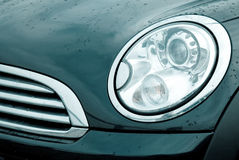 Modern car stock image