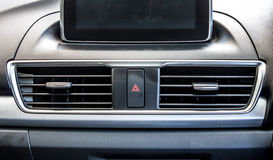 Modern car air conditioning vent 2 Royalty Free Stock Images