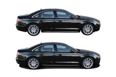 Modern car Audi A8 Royalty Free Stock Images