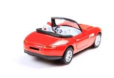 Modern car back view royalty free stock photo