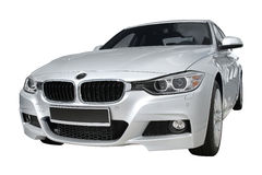 Modern car BMW 3 (F30) Royalty Free Stock Photos
