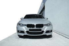 Modern car BMW 3 Stock Photo